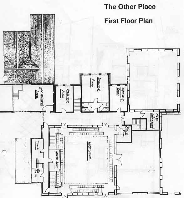 Royal Shakespeare Company The Other Place First Floor Plan